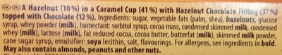 Toffifee - Ingrediënten - en