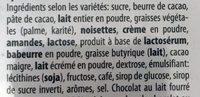 merci - Ingredienti - fr