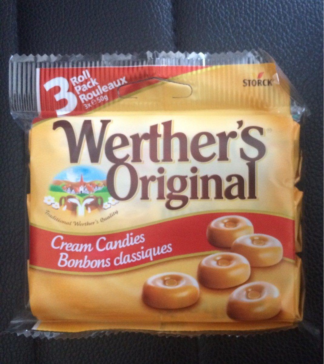 Werther's original sans sucre - Product - fr