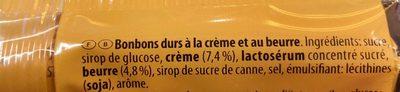 Werther's original sans sucre - Ingrédients