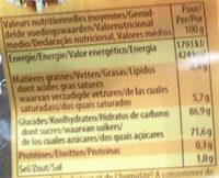 Werther's original sans sucre - Informations nutritionnelles