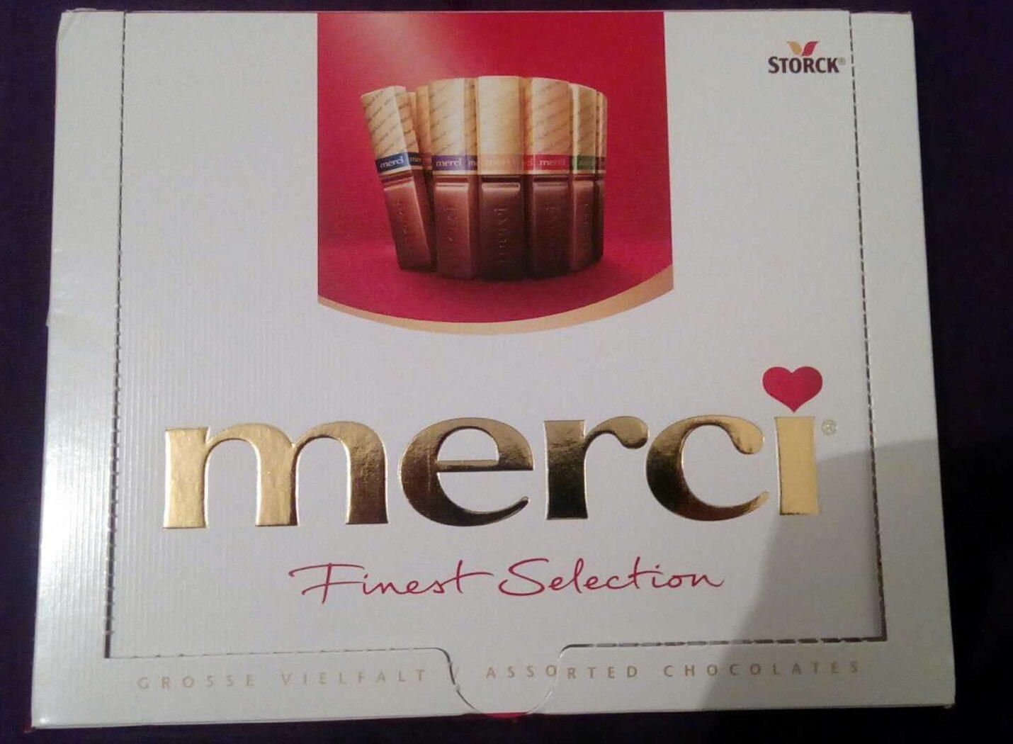 Merci Finest Selection - Produkt
