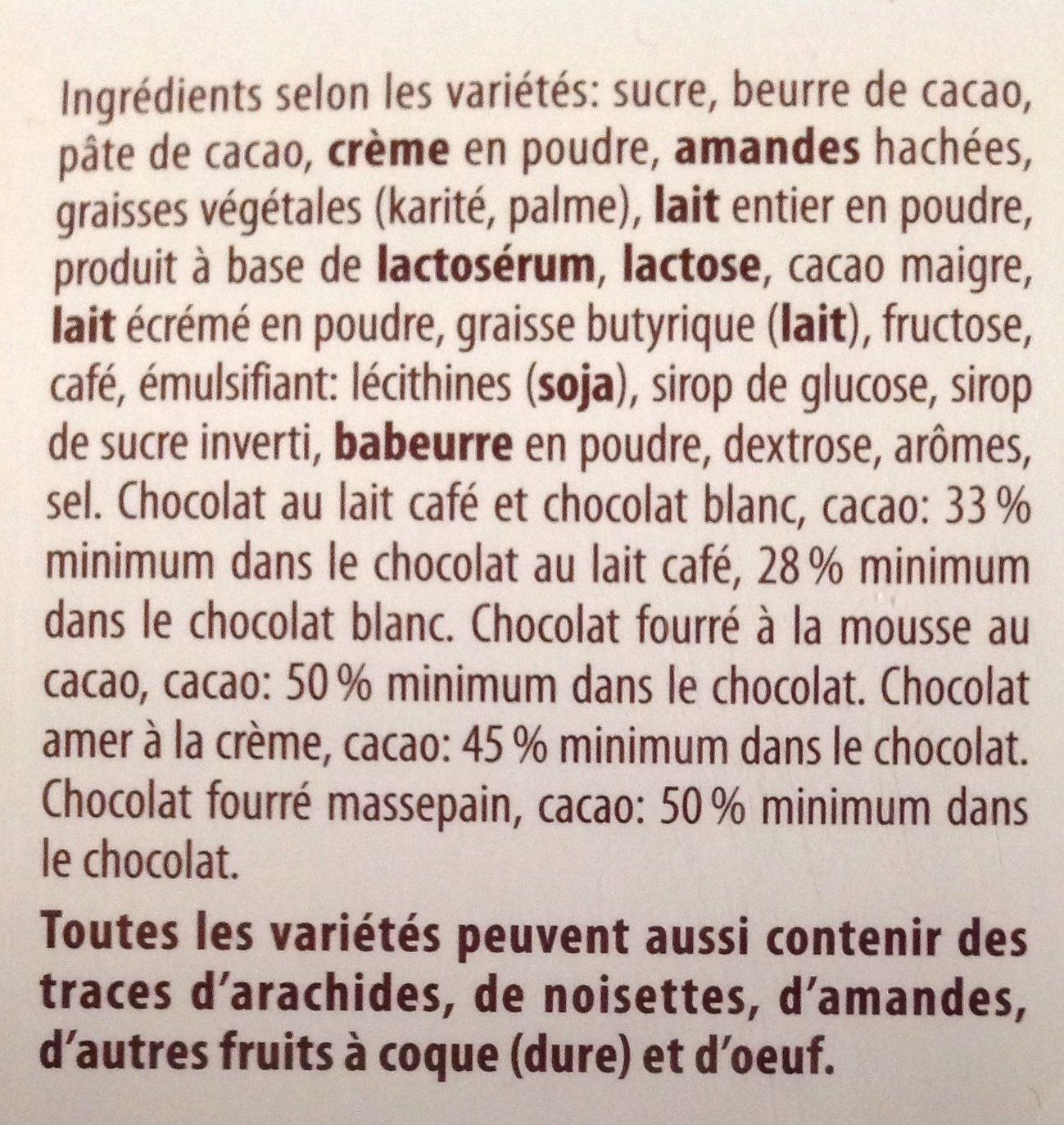 merci Finest Selection Herbe Vielfalt - Ingrédients - fr