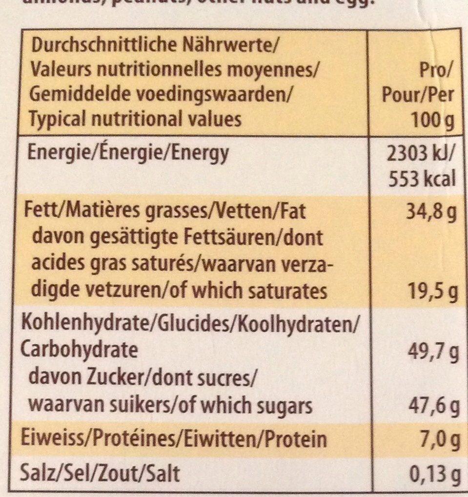 merci Finest Selection Herbe Vielfalt - Informations nutritionnelles - fr