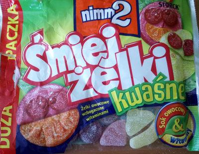 Śmiej żelki kwaśne - Produkt - pl