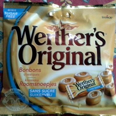 Werther's Original - Bonbons Classiques Sans Sucre - Produit