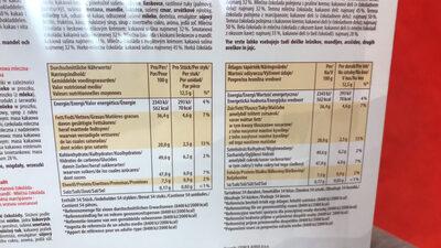 Merci finest selection - Informations nutritionnelles - fr