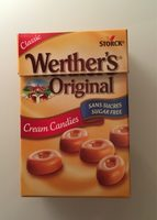 Werther's original sans sucre - Product - fr