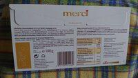 Merci - Informations nutritionnelles - fr