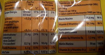Nimm2 Lachgummi 200G - Nutrition facts