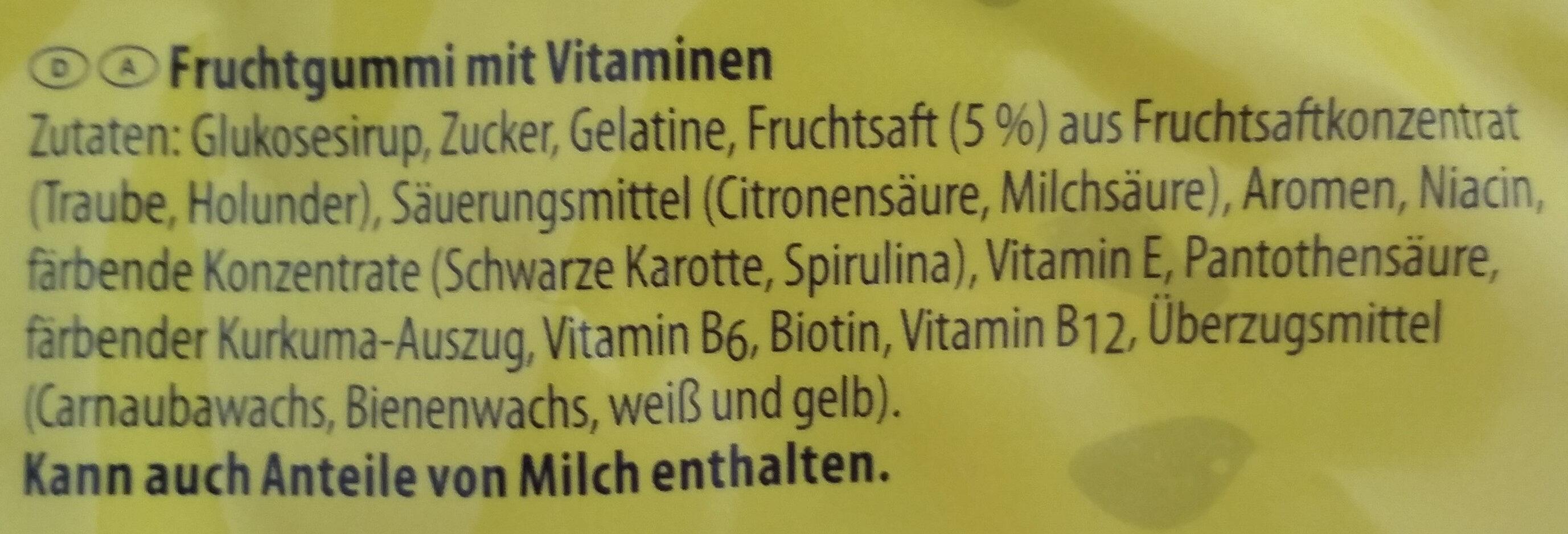 Nimm 2 Lachgummi - Ingredients