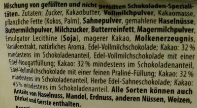 merci Frohe Ostern - Inhaltsstoffe