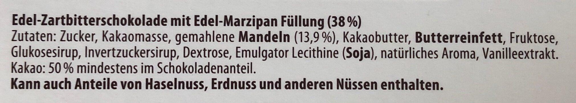 Storck merci Edel-Marzipan - Ingredients - de