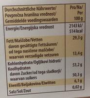 Storck merci Edel-Marzipan - Nutrition facts - de