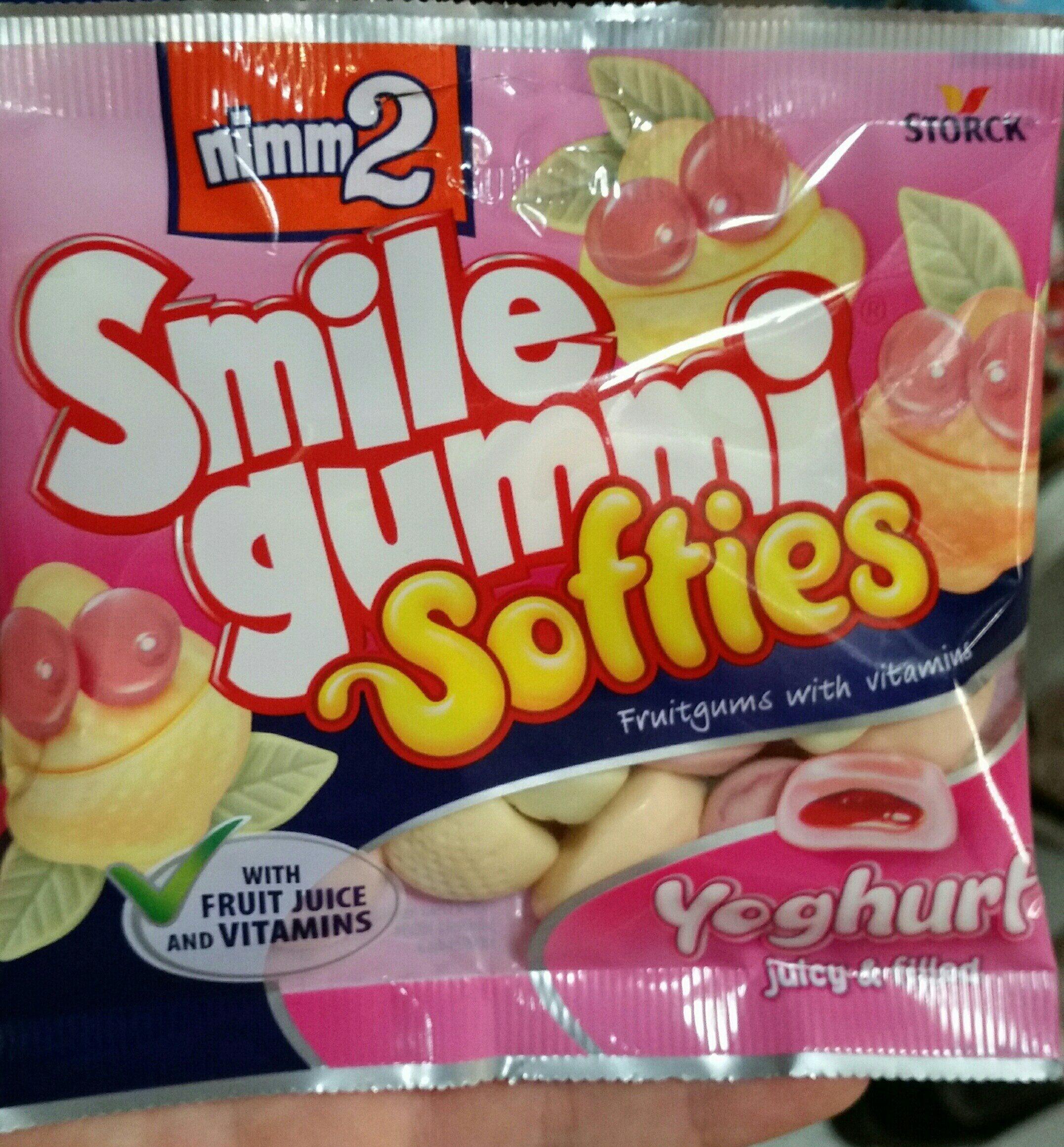 Smile gummi softies Yoghurt - Product