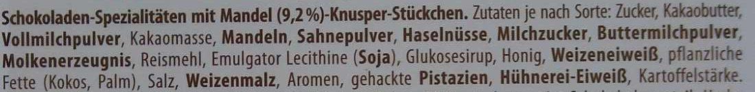 Finest Selection Mandel Knusper Vielfalt - Ingredients