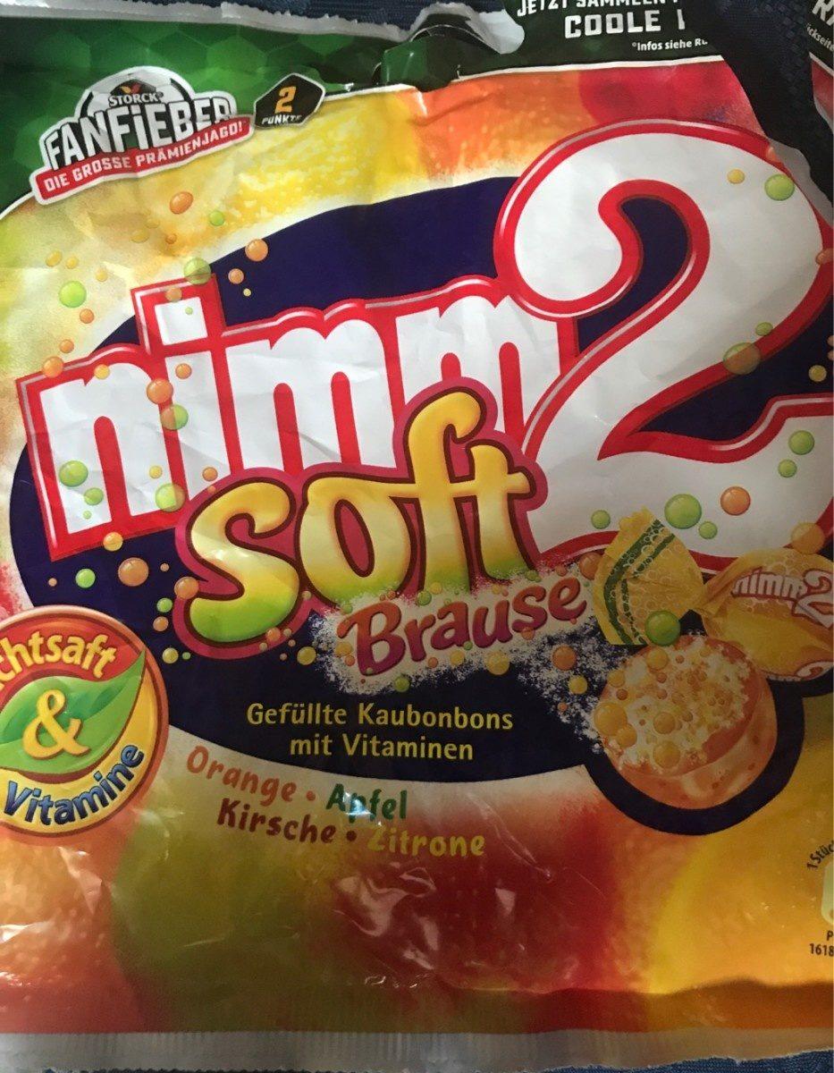 Soft Brause Orange Apfel Kirsche Zitrone - Product