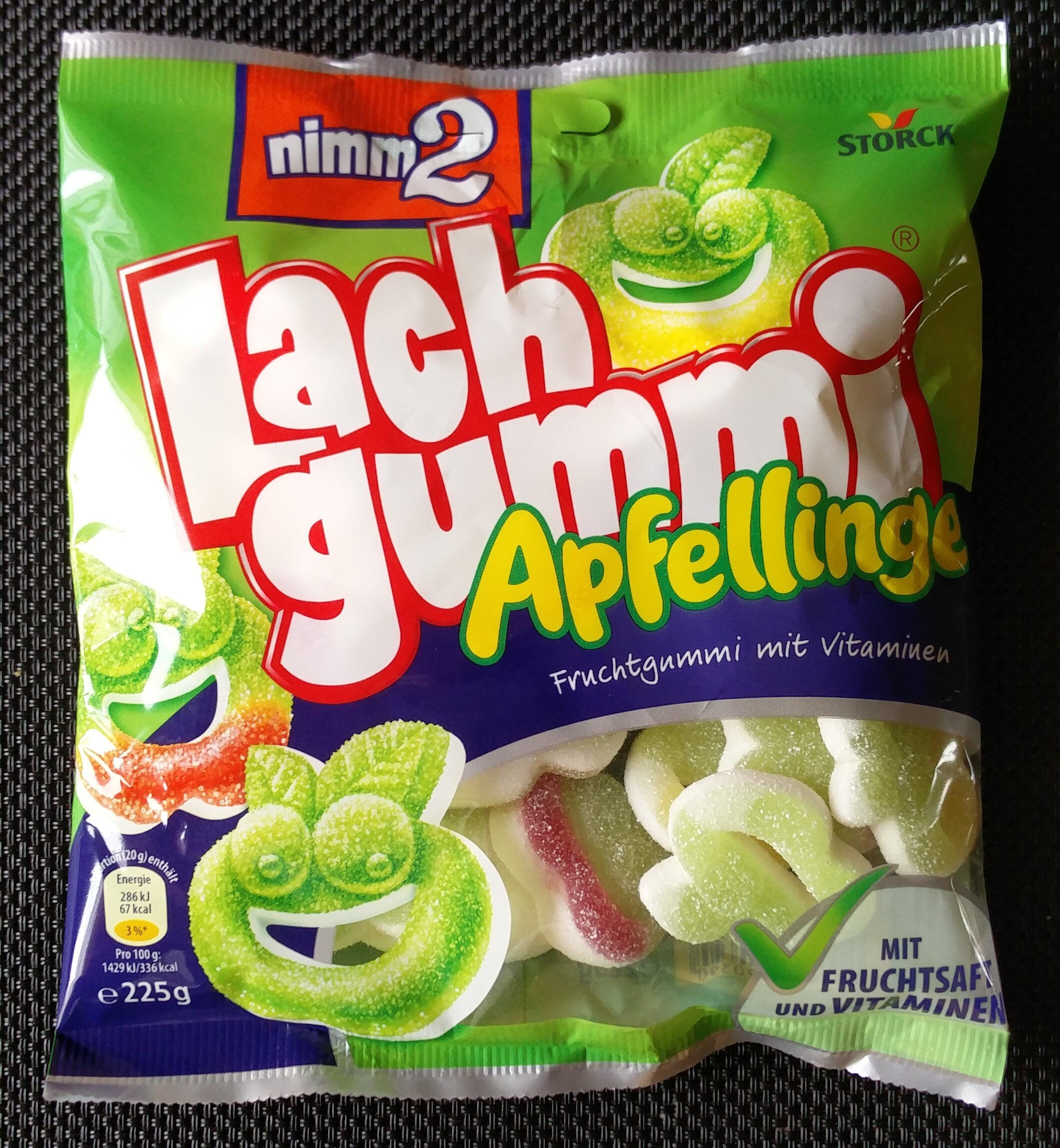 Lachgummi Apfellinge - Product - de