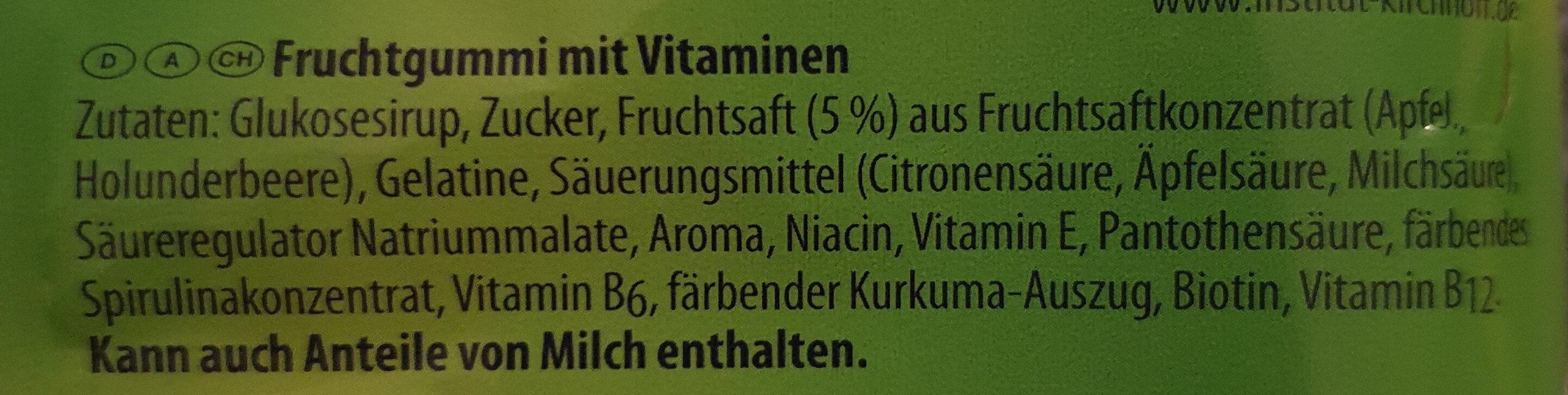 Lachgummi Apfellinge - Ingredients - de