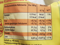 sommer sause - Informations nutritionnelles
