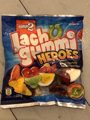 Nimm2 Lachgummi Heroes - Product - en