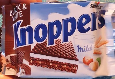 Knoppers Black & White - Product