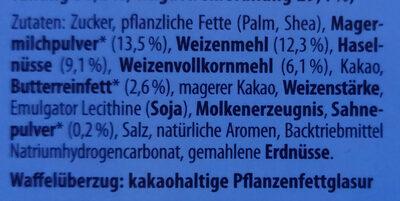 Knoppers - Ingrédients - de