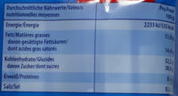 Knoppers NussRiegel - Nutrition facts - de
