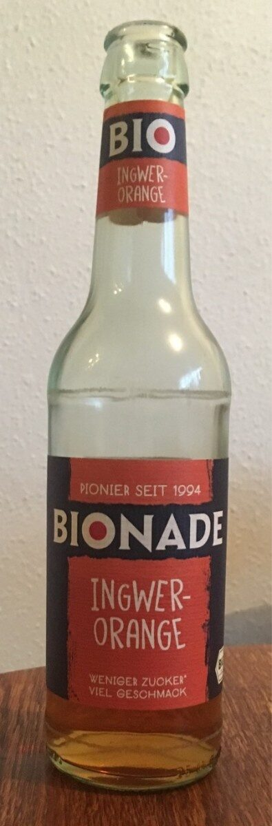 Bionade Ingwer-Orange - Produit