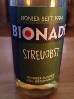 Bionade Streuobst - Prodotto - de