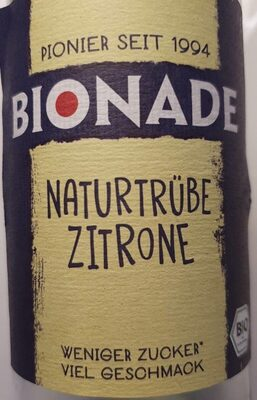 Naturtrübe Zitrone - Prodotto - de