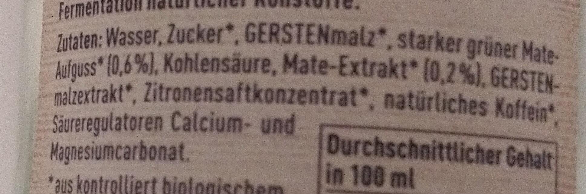 Mate Pur - Ingredienti - de