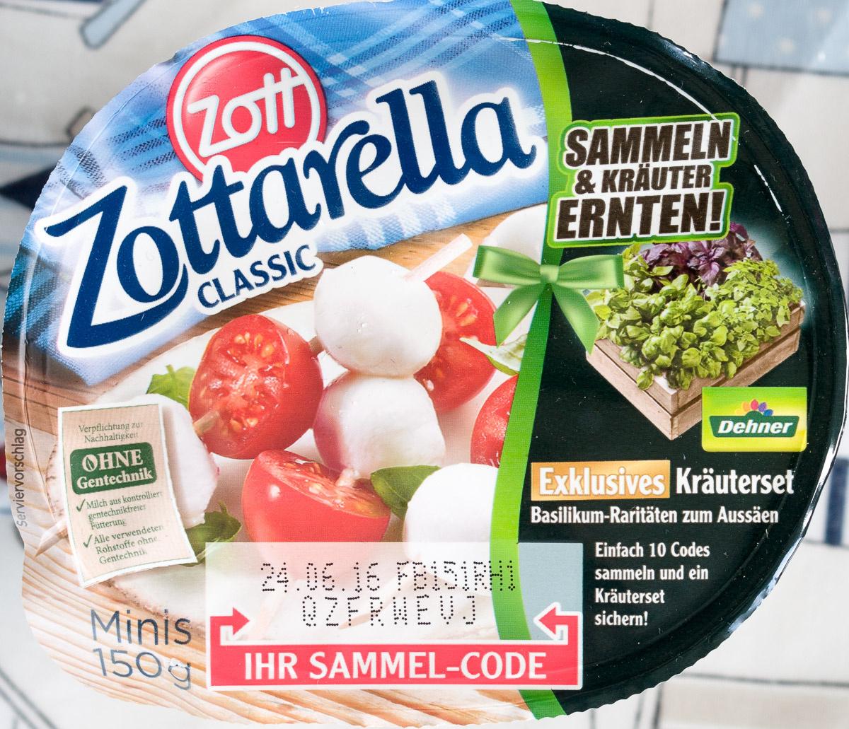 Mini/ Zottarella Classic Mozzarella  / käse - Product - de
