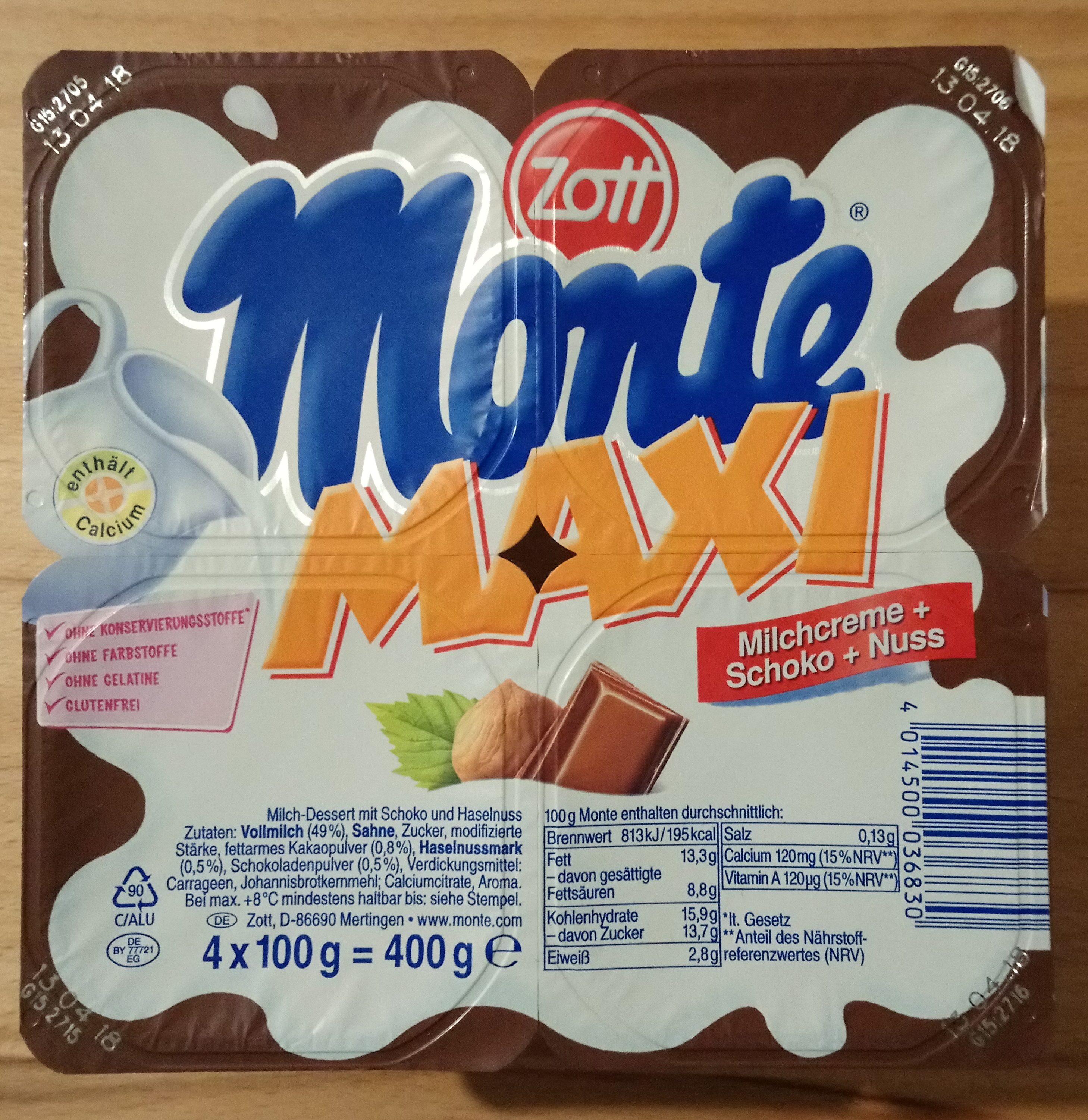 Monte Maxi - Product - de