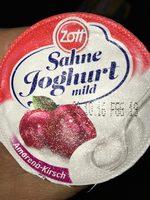 Sahne Joghurt mild Amarena-Kirsch - Produkt