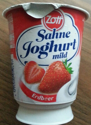 Sahnejoghurt mild Erdbeer - Product