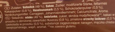 Monte - Ingrediënten - de