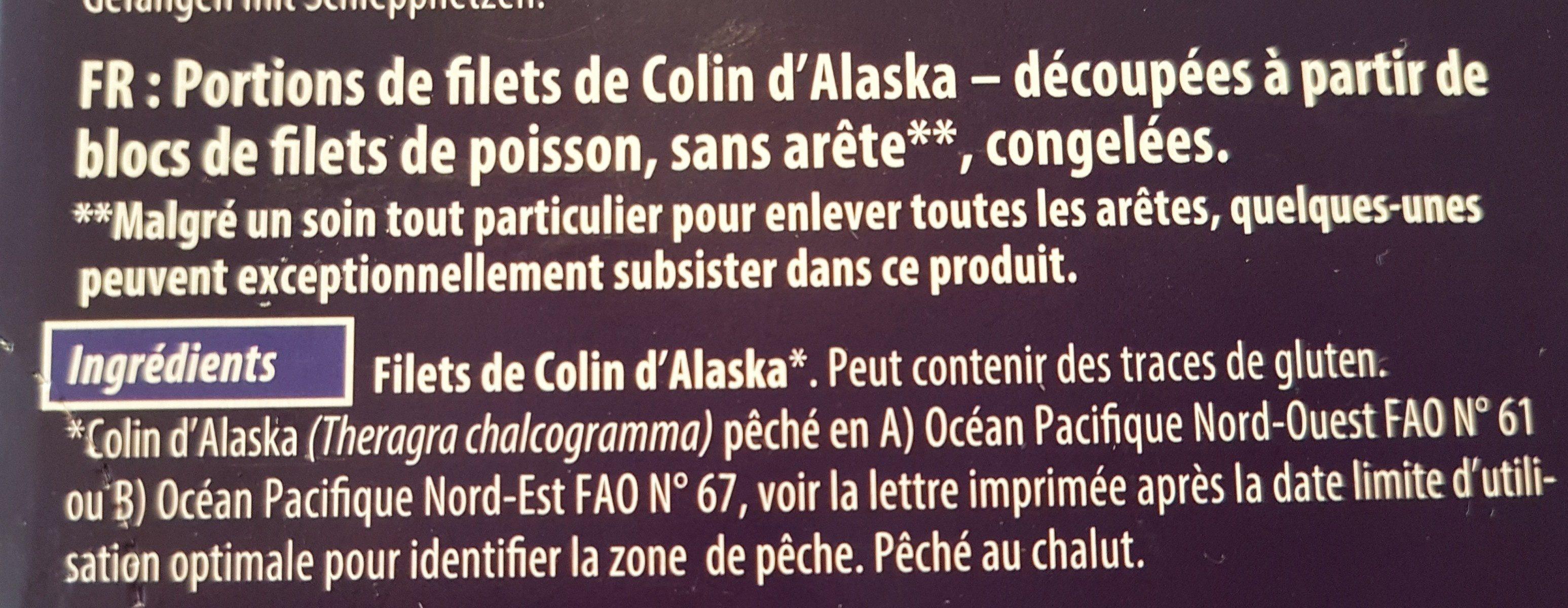 Alaska-seelachs - Ingrediënten - fr