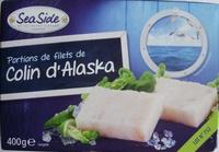 Portions de filets de Colin d'Alaska, surgelé - Product