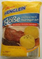 Kloßteig nach Thüringer Art - Product - de