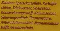 Kloßteig nach Thüringer Art - Ingredients - de