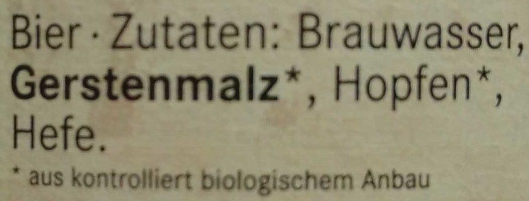 Baltik-Lager - Ingredients