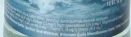 Wittenseer Sturm - Nutrition facts - de