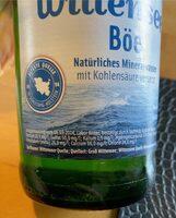Wittenseer Böe - Valori nutrizionali - de