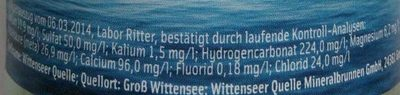 Wittenseer Flaute - Nutrition facts - de