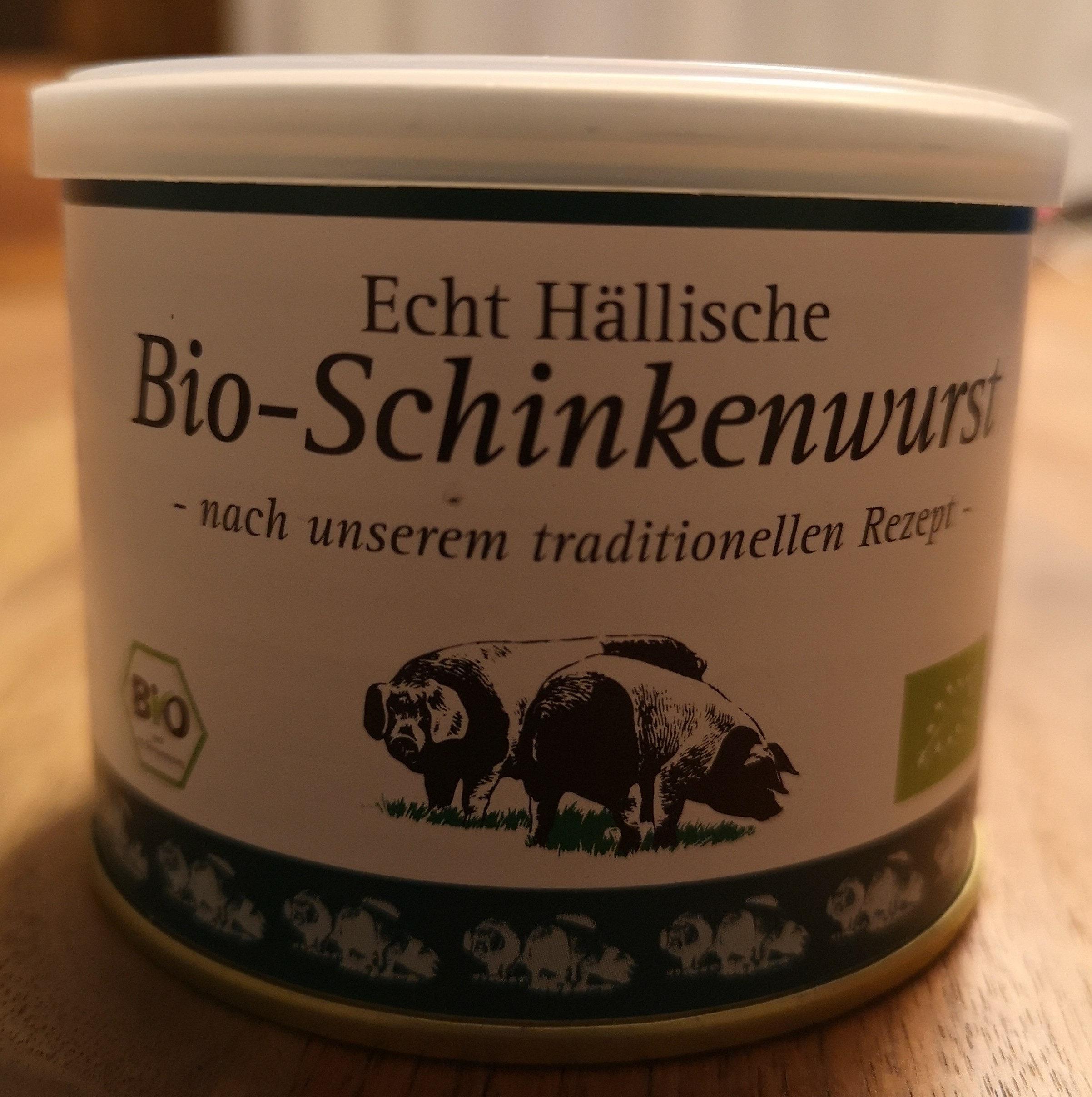 Echt Hällische Bio-Schinkenwurst - Produkt