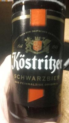 Köstritzer Schwarzbier - Produkt