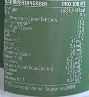 Kingsway Multivitamin - Informazioni nutrizionali - de