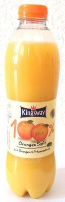Kingsway 100 % Orangensaft - Product