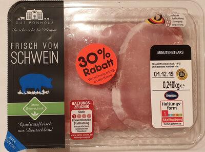 Minutensteaks vom Schwein - Product - de